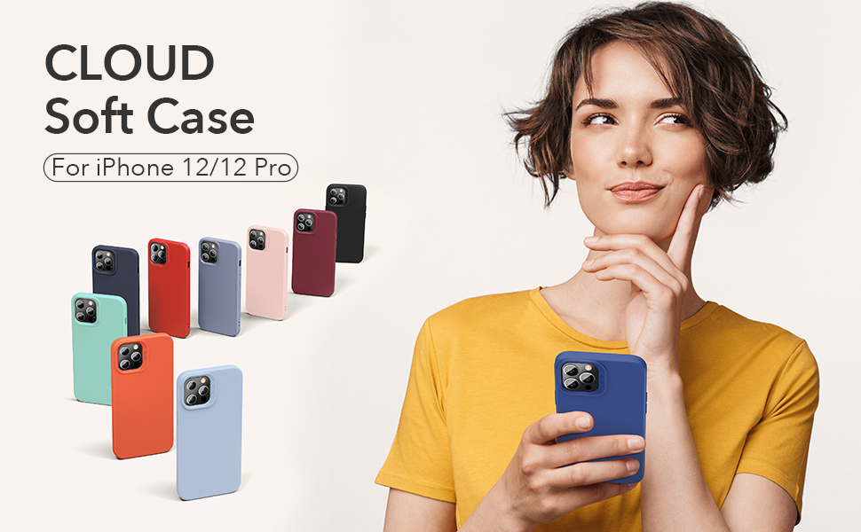 Cloud Soft Case for iPhone 12/ 12 Pro