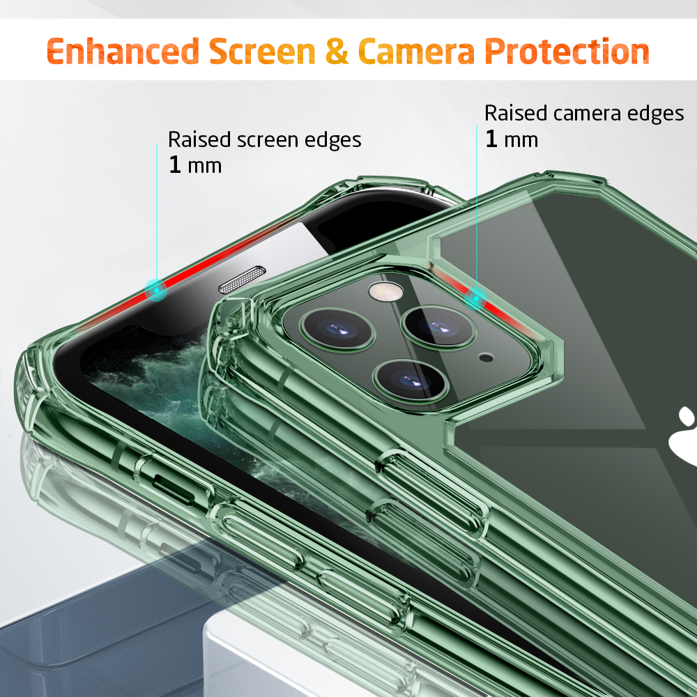 Enhanced screen and camera Protection Case for iPhone 11 Pro Max