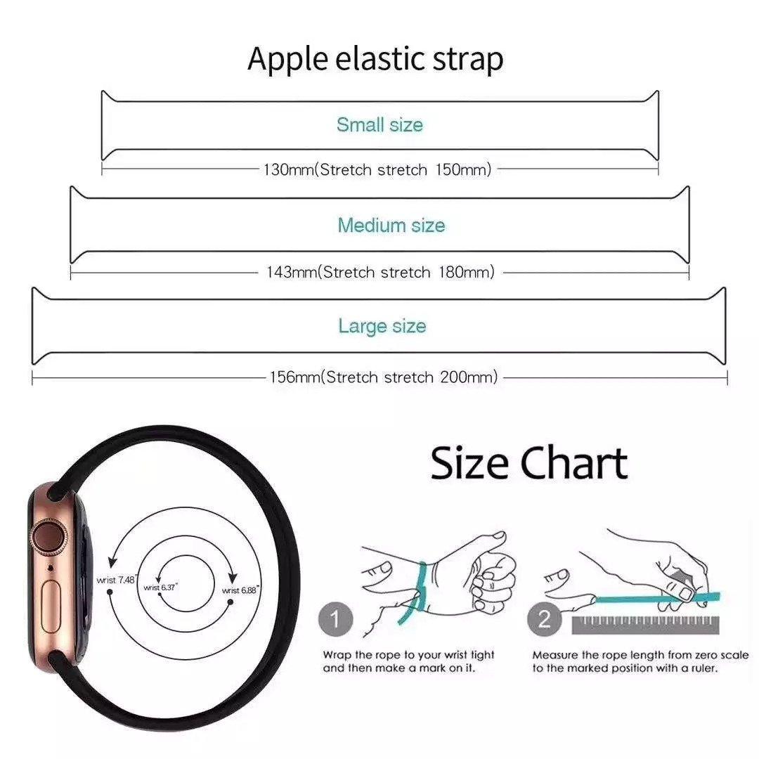 Apple elastic strap