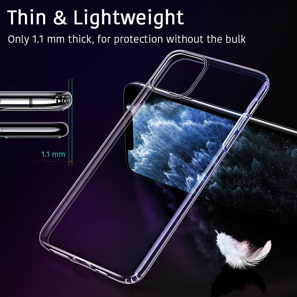 Thin and lightweight case for iPhone 11 Pro Max