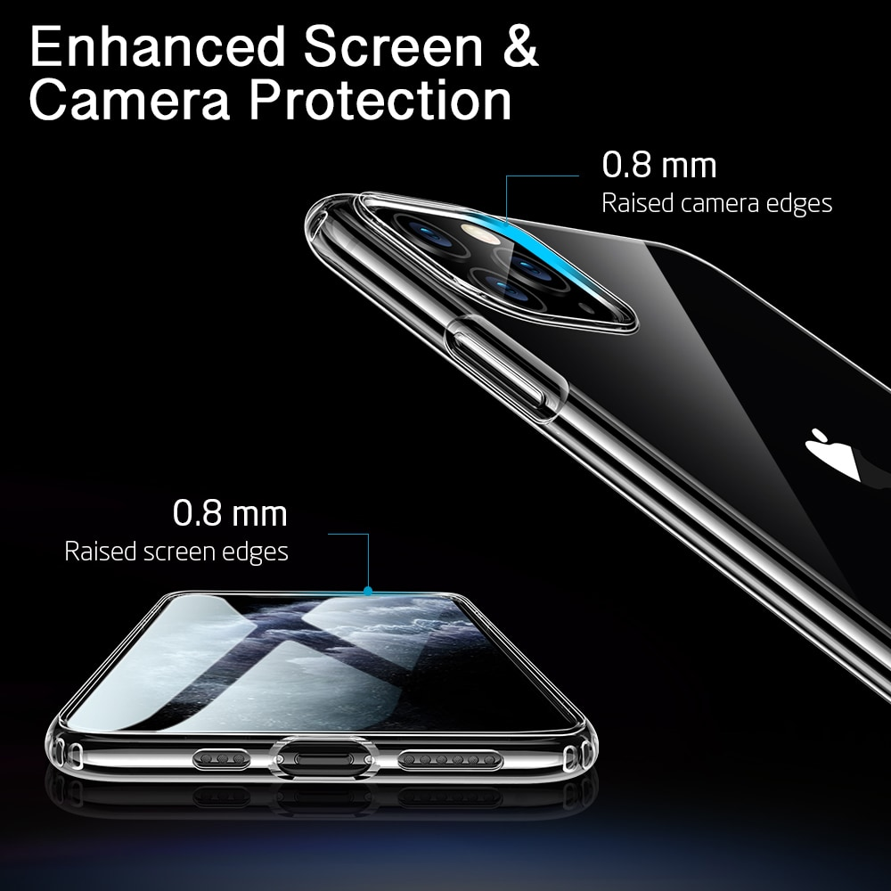 iPhone 11 Pro Max Silicone Case with Enhanced screen and camera protection