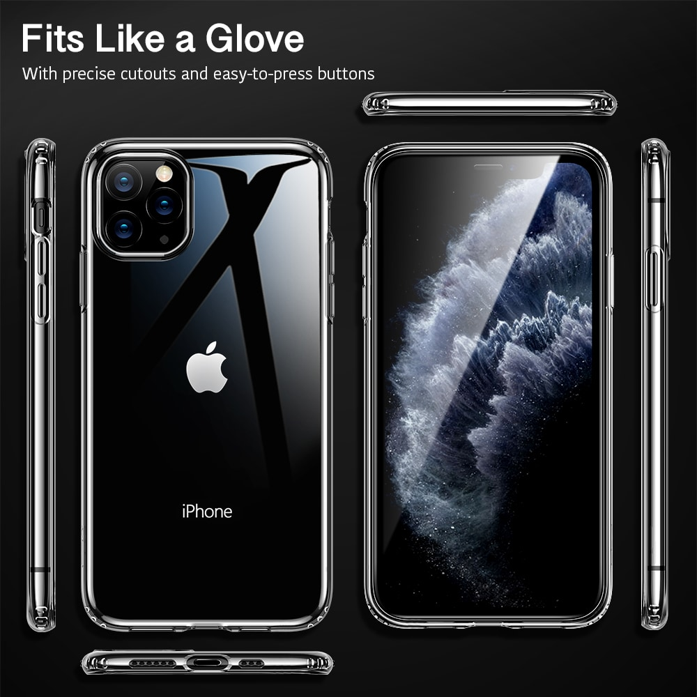 Crystal Clear case for iPhone 11 pro Max
