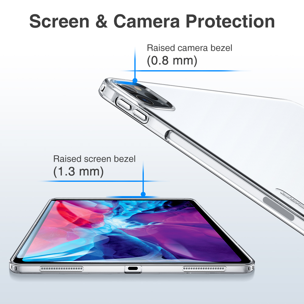 Screen and Camera protective case for ipad pro