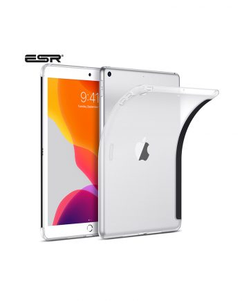ESR Rebound Soft Shell Back Case for iPad Pro/Air [Matte Clear]