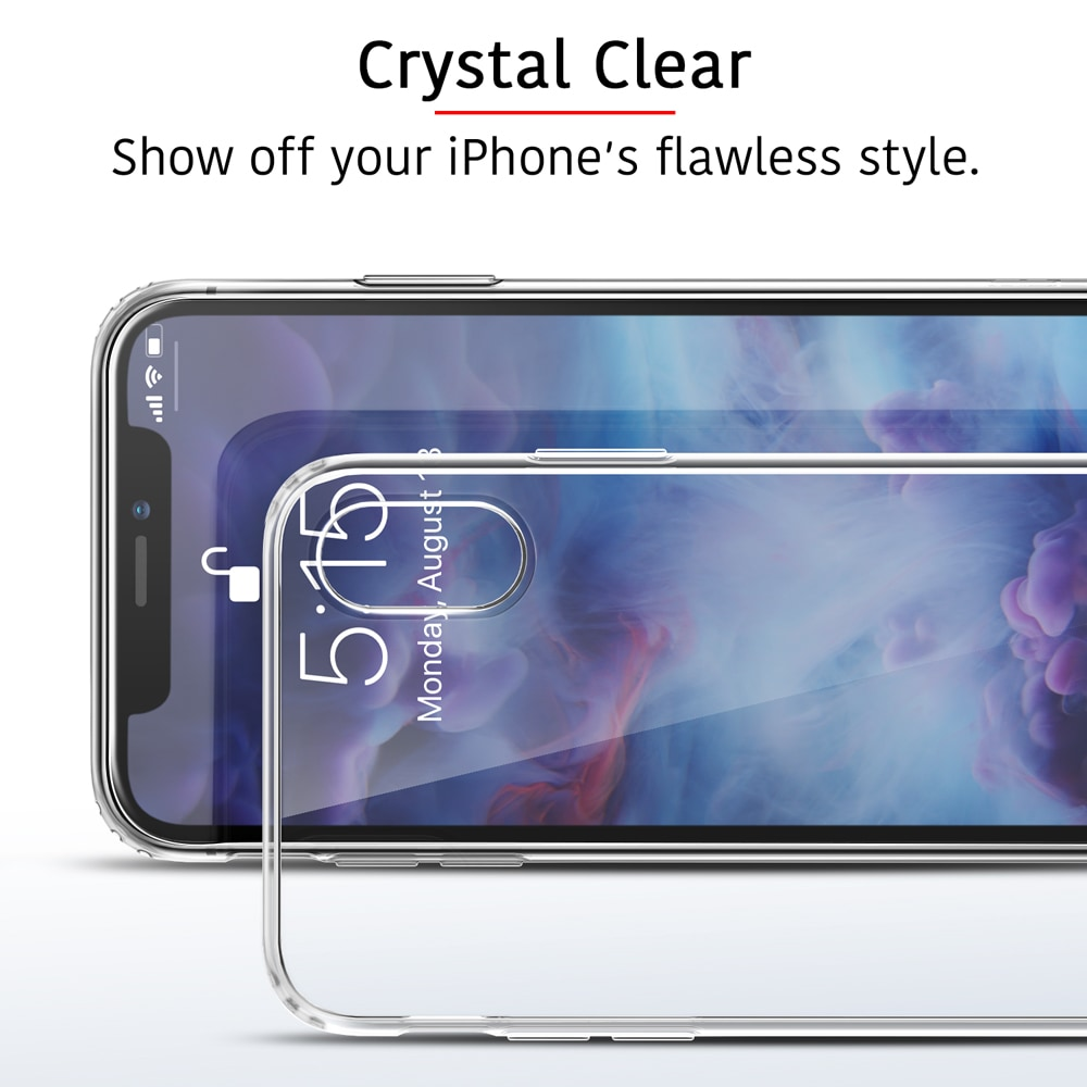 ESR clear case with Precise cutouts