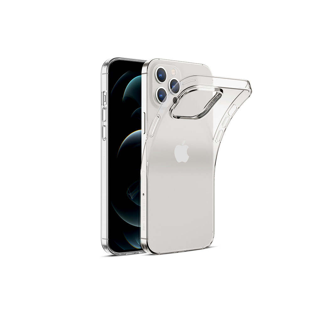 ESR crystal clear back case with yellowing-resistant
