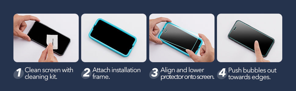 ESR TAMPERED-GLASS SCREEN PROTECTOR FOR IPHONE