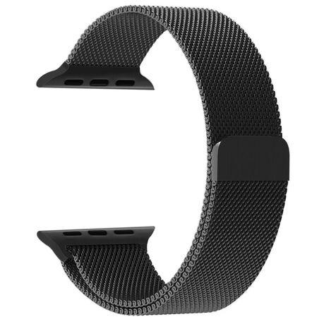 Apple Watch Milanese loop Black
