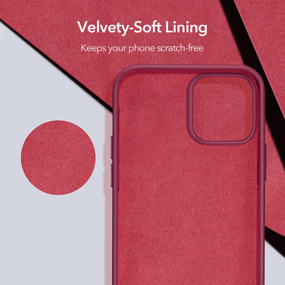 Velvety soft lining
