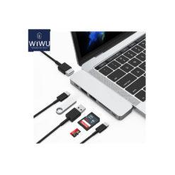 WIWU USB TYPE C 7 in 1 Hub