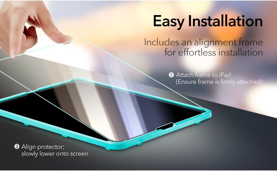 ESR Screen Protector for iPad Pro 12.9 inch (2021/2020/2018)